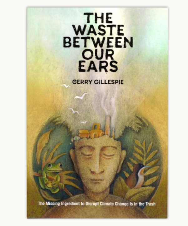 Cover of The Waste Between Our Ears book.