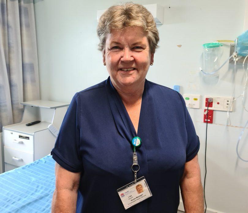 Nurse Lisa Wilson at Batemans Bay Hospital.