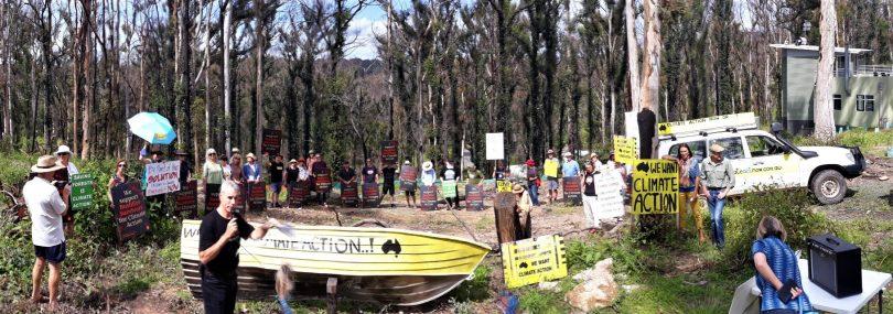 Members of Bushfire Survivors for Climate Action