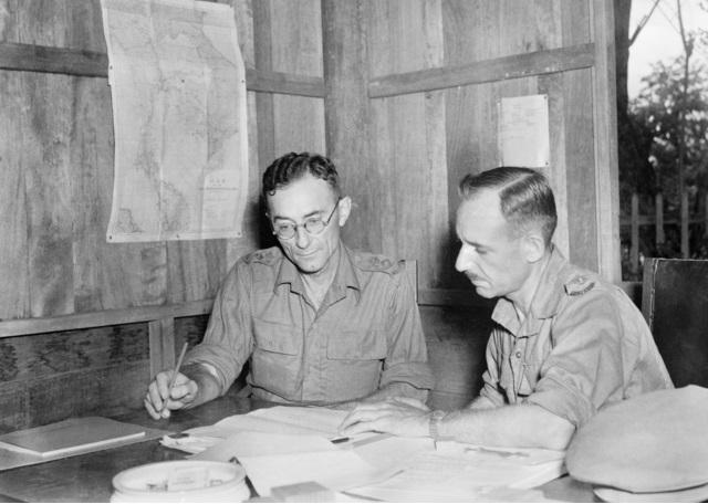 Lieutenant Colonel Anderson in 1945.