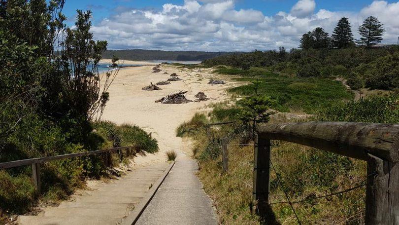 Tuross Heads beach.