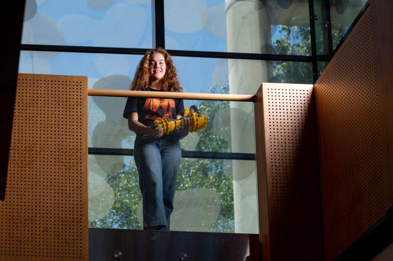 Elizabeth Shaw at UNSW Canberra.