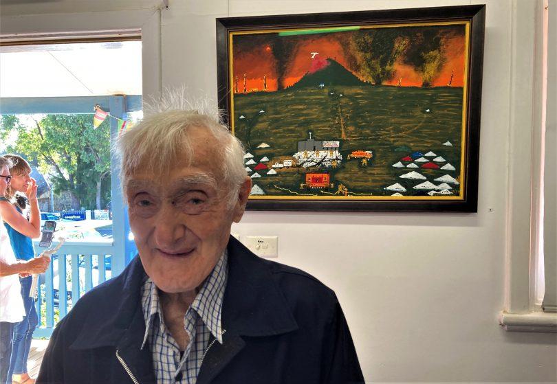 Artist Jack Featherstone.