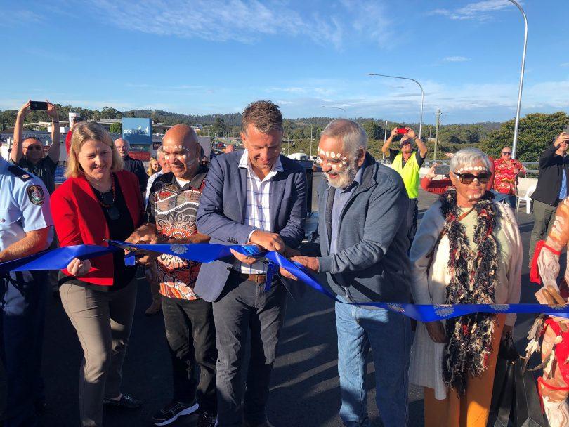 Batemans Bay Bridge opening 2021