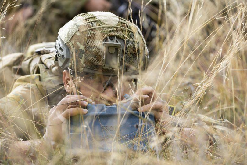 Trainee soldier