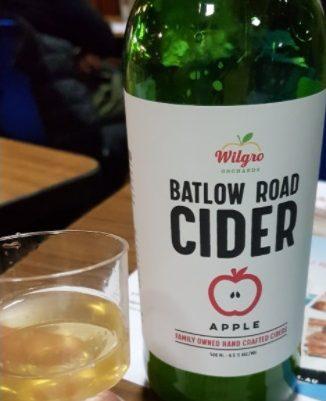 Bottle of Batlow Road Cider