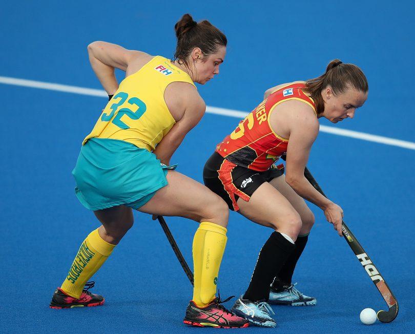 Hockeyroos player Emily Chalker