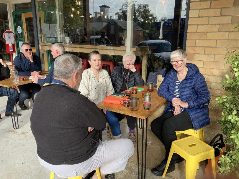 Members of the Yass Rural Australians for Refugees (RAR) group