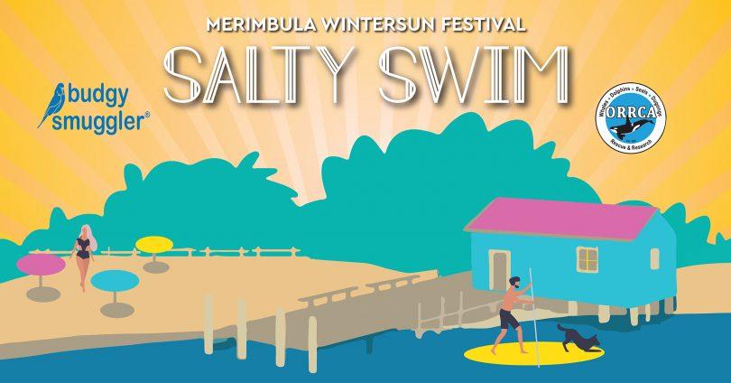 Promo for WinterSun Festival's salty swim event