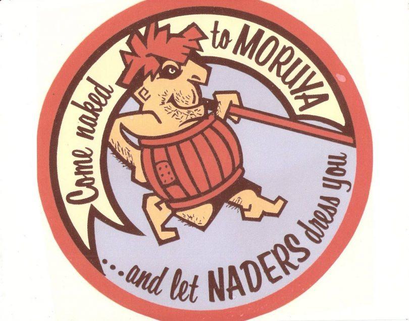 Advertisement for Naders store in Moruya