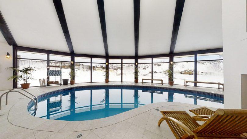 Indoor pool at Marritz Hotel