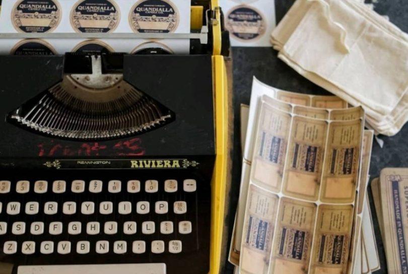 Sarah Ryan's typewriter