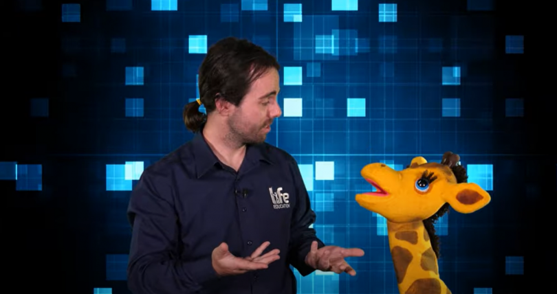 Kial Malone and Healthy Harold are taking their message to kids via new online classes during the Covid-19 lockdown.