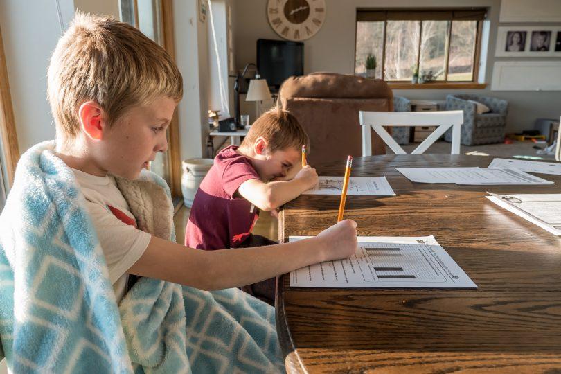 Children home-schooling