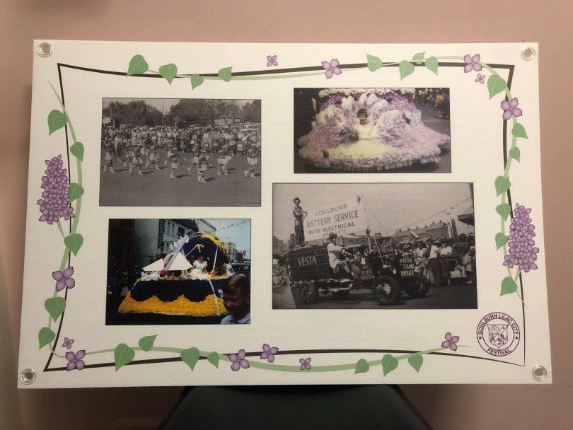 Lilac festival scrapbook
