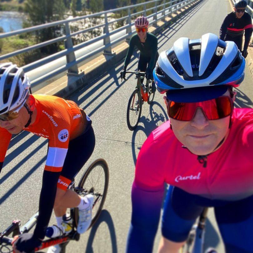 ACT cyclist Gareth Downey