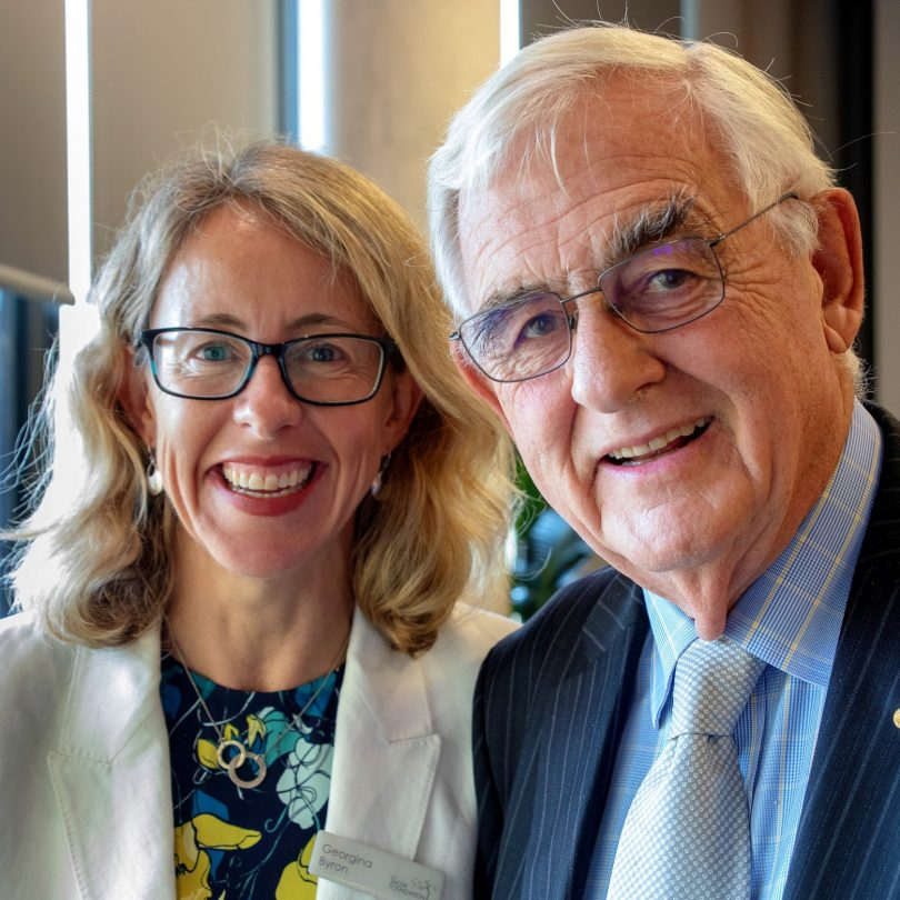 Georgina Byron and Terry Snow are hoping community leaders will apply for the Social Entrepreneurs fellowships.